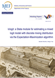 lclogit: a Stata module for estimating a mixed logit model with