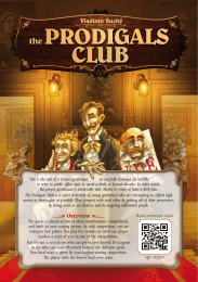 The Prodigals Club - Czech Games Edition