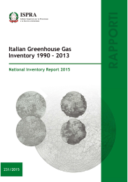 Italian Greenhouse Gas Inventory