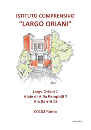 POF2015-2016 - IC Largo Oriani