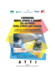 L`intreccio mente stress e cancro