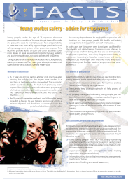 Young worker safety - advice for employers
