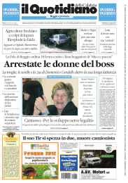 Arrestate le donne del boss