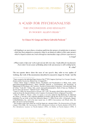 a case for psychoanalysis. the unconscious and
