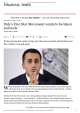 Italy`s Five Star Movement wants to be taken - politics