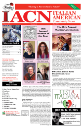May2015 - Italian American Community Center