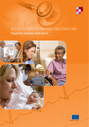 access to healthcare and long-term care