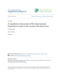 A Qualitative Assessment of the International Exposition Center to