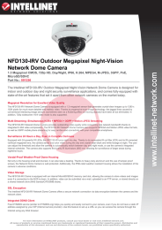 NFD130-IRV Outdoor Megapixel Night-Vision Network