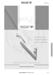 Knives - Rimoldi