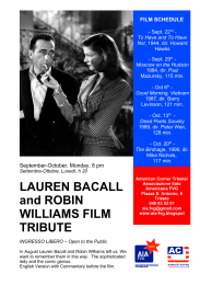 LAUREN BACALL and ROBIN WILLIAMS FILM