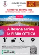 A Resana arriva la FIBRA OTTICA - Documents