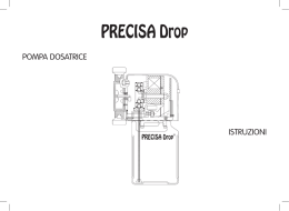 PRECISA Drop - Metalife srl