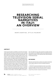 Print this article - Series - International Journal of TV Serial Narratives