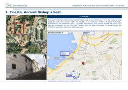 1. Trieste, Ancient Bishop`s Seat