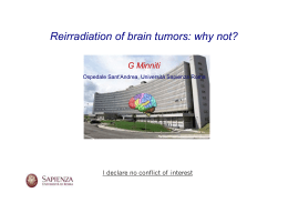 Reirradiation of brain tumors: why not?