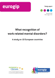 What recognition of work-related mental disorders?