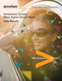 Automotive Survey: What Digital Drivers Want Italy Results