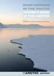 What happens in the arctic doesn`t stay in the arctic