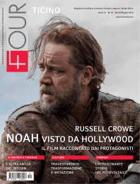 TICINO NOAH VISTO DA HOLLYWOOD