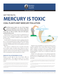 MERCURY IS TOXIC
