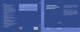 Imagining Europe: Towards a More United and Effective EU Edited