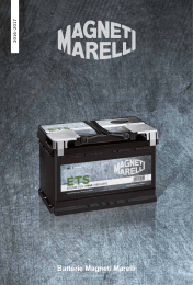 Batterie Magneti Marelli - Cataloghi Ricambi Aftermarket