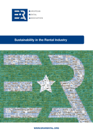 Sustainability in the Rental Industry