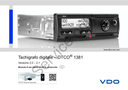 Tachigrafo digitale – DTCO 1381
