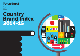 Country Brand Index 2014-15