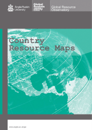 Country Resource Maps - Anglia Ruskin University