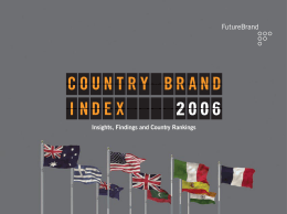 FutureBrand Country Brand Index