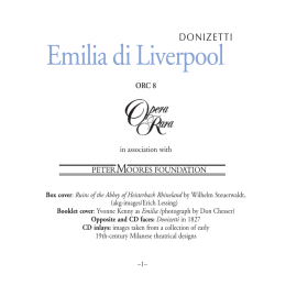 Emilia di Liverpool - The Classical Shop
