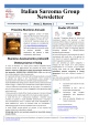 Italian Sarcoma Group Newsletter - Documents