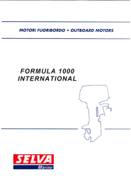 VISTA ESPLOSA F 1000 INTERNATIONAL