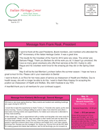 Please click here to view newsletter