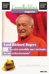 Lord Richard Rogers - GreenBuilding magazine