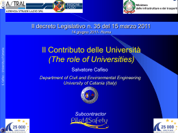 The role of Universities
