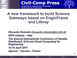 3 - Catania Science Gateway