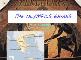 THE OLYMPICS GAMES