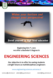 in Engineering - Engineering Sciences
