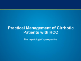 Practical Management of Cirrhotic Patients with