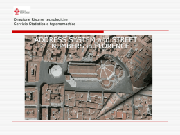 English version system address in Florence