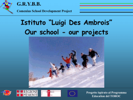 Progetto ispirato al Programma Education del