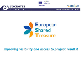 Metadata model - European Shared Treasure