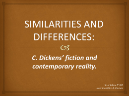 C. Dickens` fiction and contemporary reality