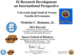 Research - Università degli Studi di Verona