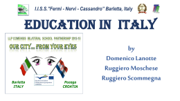 Education in Italy - Our city from your eyes