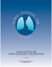 GLOBAL STRATEGY FOR ASTHMA MANAGEMENT AND PREVENTION ® R