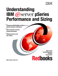 Understanding IBM pSeries Performance and Sizing